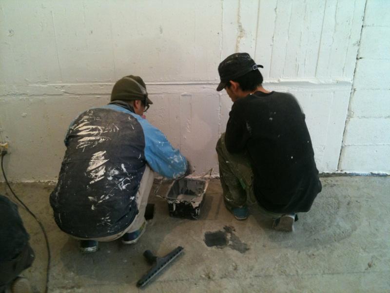 2011.1/26. 作業22日目。エポキシ塗装。_a0184716_215555.jpg