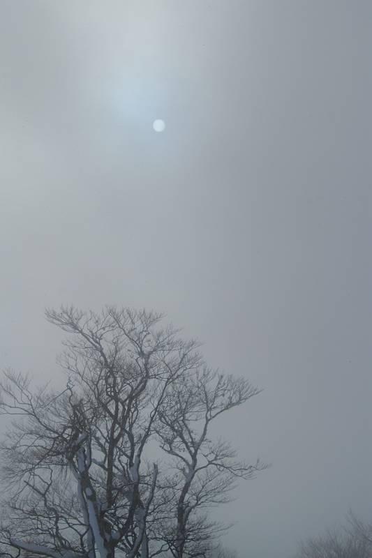 福島県耶麻郡猪苗代町 冬の箕輪山_d0106628_10174161.jpg