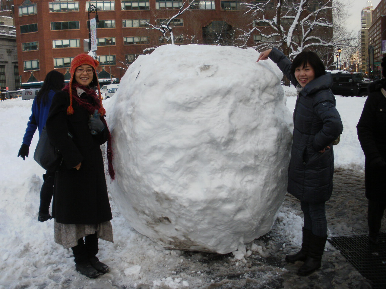 大雪の風景と陶芸作品_f0095325_14413344.jpg