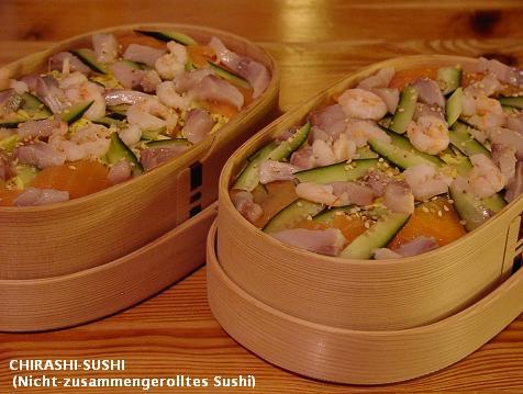 スーパーのパック魚で海鮮ちらし寿司_d0144726_19154653.jpg