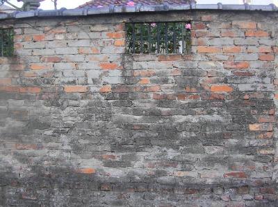 古いれんがの塀。_b0207631_9253510.jpg