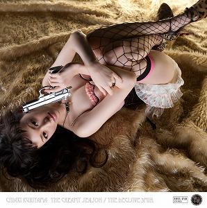 栗山千明、衝撃のプロデュース第三弾は椎名林檎 作詞・作曲、東京事変 演奏の、絶品の両A面シングル!!_e0025035_22413736.jpg
