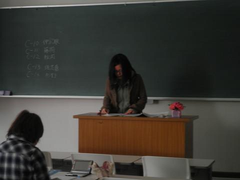 卒業論文発表会☆_d0160145_2346714.jpg