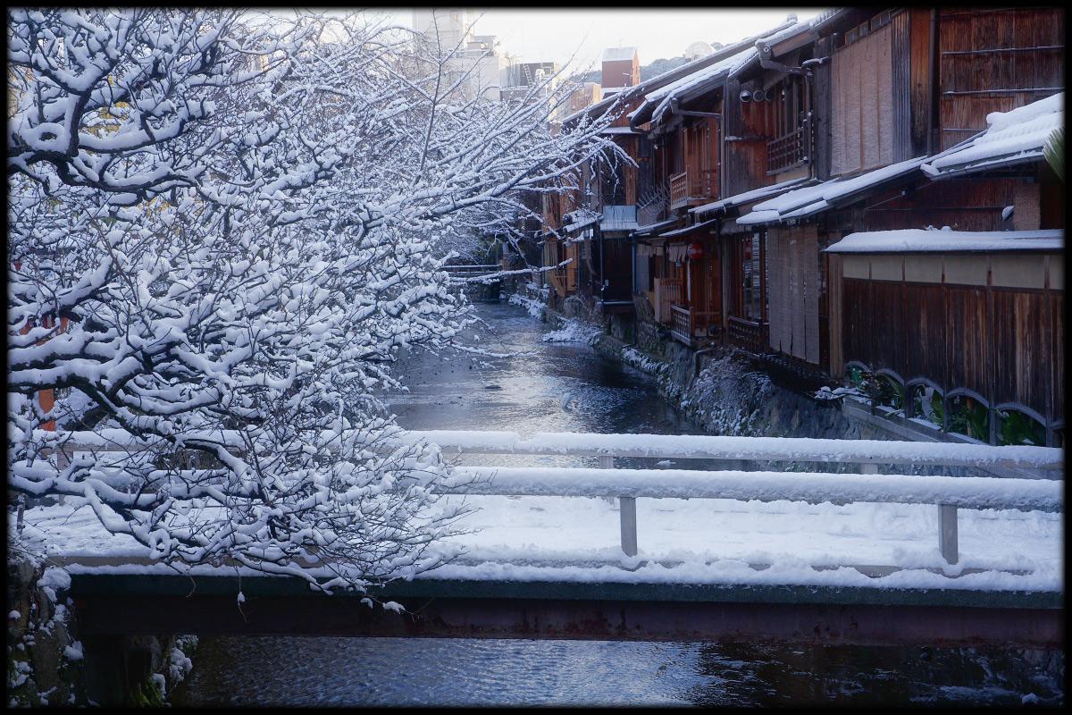 雪景色 <祇園白川>_f0021869_23152787.jpg