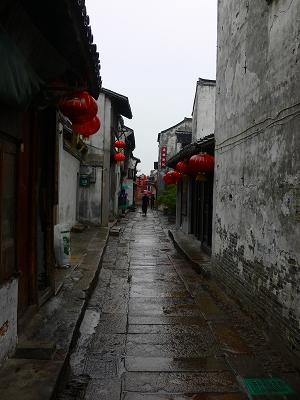 中国出張2010年12月-週末旅行-第二日目-西塘鎮(II) 西塘は朝から雨、西街16で朝食_c0153302_12105886.jpg