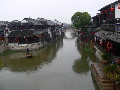 中国出張2010年12月-週末旅行-第二日目-西塘鎮(II) 西塘は朝から雨、西街16で朝食_c0153302_12173618.jpg