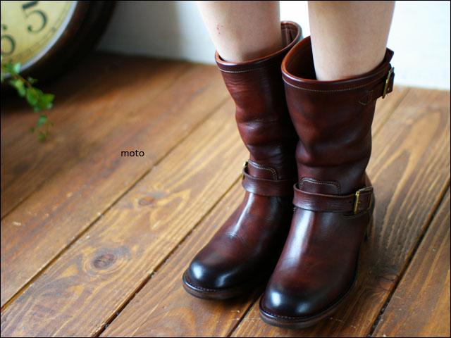 moto leather&silver[モトレザー] Engineer Boots [手染め エンジニアブーツ]LADY\'S_f0051306_18311590.jpg