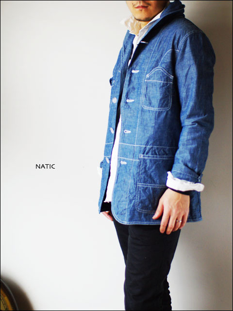 NATIC [ナティック] セルビッチダンガリー ジャケット カバーオール [NFB-1007E] MEN\'S _f0051306_183543100.jpg