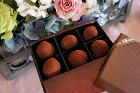 2月のお菓子教室 メニュー  チョコレート チョコレート♡_d0210450_22214229.jpg