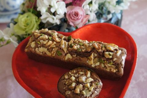 2月のお菓子教室 メニュー  チョコレート チョコレート♡_d0210450_22221385.jpg