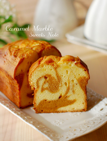 キャラメルケーキとバナナケーキ_c0169657_2218447.jpg