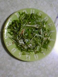 水菜・・・_b0201285_2135083.jpg