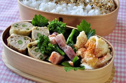 明太玉子と菜の花のお弁当_b0171098_7534210.jpg