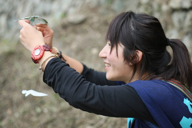 幸せの白い鳥プロジェクト in イフガオ 「原始の森にホワイト・バードが戻ってきた日」_b0128901_1359320.jpg