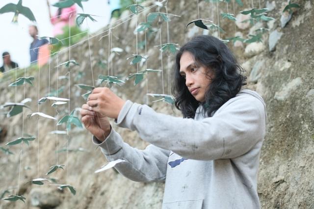 幸せの白い鳥プロジェクト in イフガオ 「原始の森にホワイト・バードが戻ってきた日」_b0128901_1401455.jpg