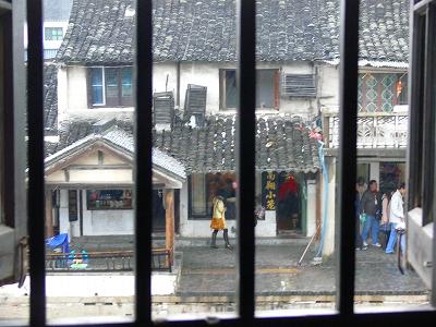 中国出張2010年12月-週末旅行-第二日目-西塘鎮(III) 釦博物館、張正根彫芸術館、路地_c0153302_15592042.jpg