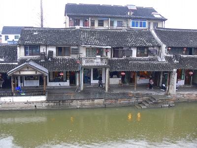 中国出張2010年12月-週末旅行-第二日目-西塘鎮(III) 釦博物館、張正根彫芸術館、路地_c0153302_1604369.jpg