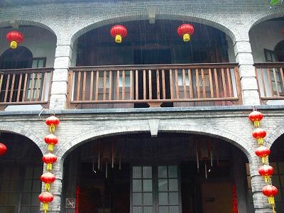 中国出張2010年12月-週末旅行-第二日目-西塘鎮(III) 釦博物館、張正根彫芸術館、路地_c0153302_1633311.jpg