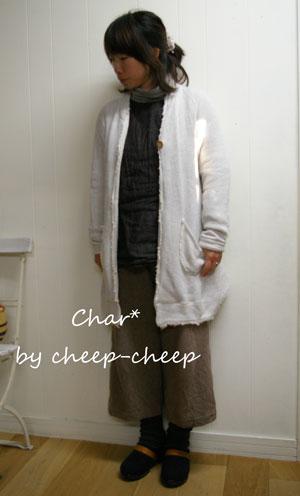 今日の CHAR* スタイル    _a0162603_1655043.jpg