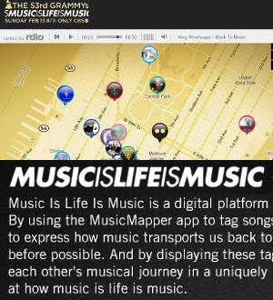 グラミー賞が作った「音楽の世界旅行」を楽しめるSNS的なデジタル・プラットフォーム、MusicIsLifeIsMusic_b0007805_032640.jpg