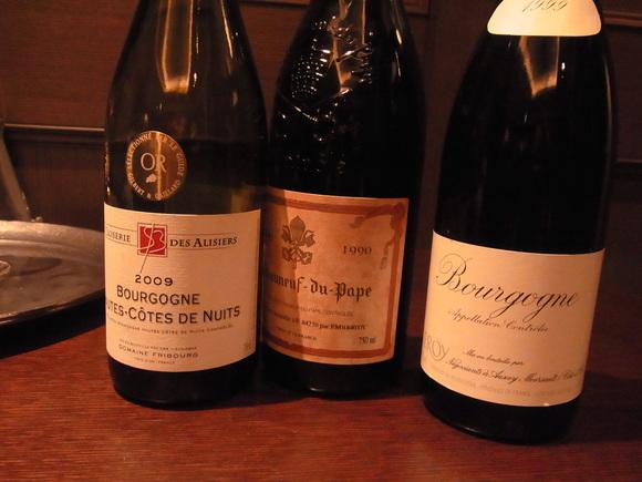 定例のワイン会、今年も楽しくスタート   (記   藤本紀久子)_a0195310_221428.jpg