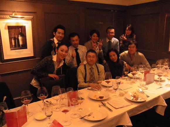 定例のワイン会、今年も楽しくスタート   (記   藤本紀久子)_a0195310_2355857.jpg