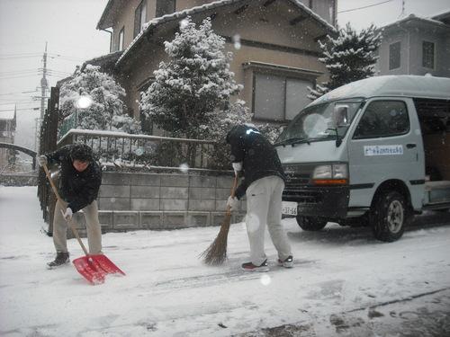 雪男達となまけもの。_d0125228_142174.jpg