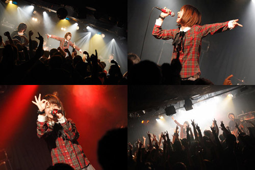 "《HEAD SPEAKER presents【""∞COLORS TOUR 2011-Release Party東京編-\""】ライヴレポート》_e0197970_21104688.jpg"