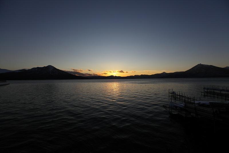 支笏湖マジックアワー_a0160581_20135119.jpg