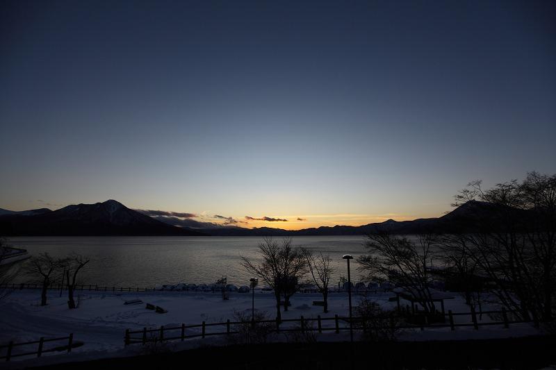 支笏湖氷濤祭り前夜 会場準備 1/27_a0160581_20322847.jpg