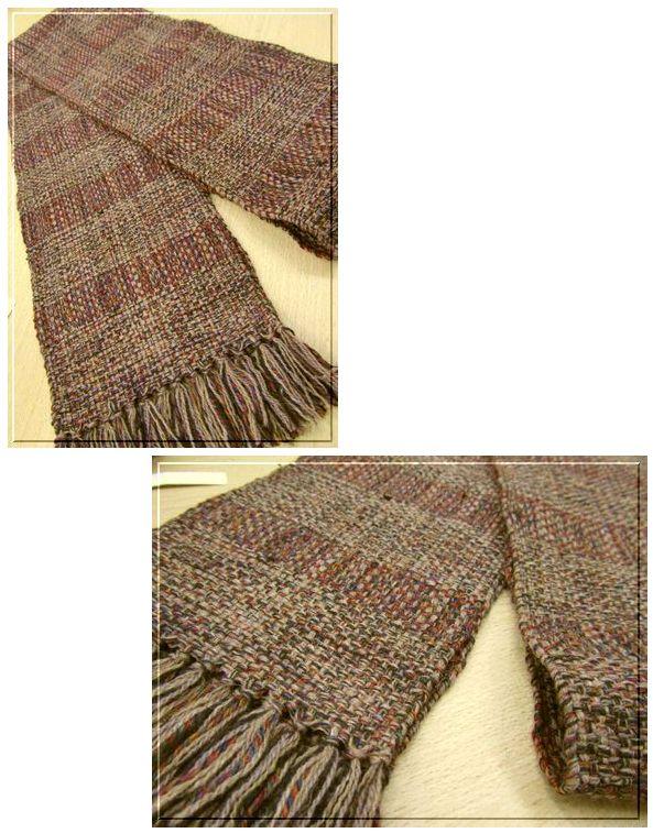 高級素材で織ったストール完成☆_c0221884_0404745.jpg