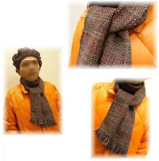 高級素材で織ったストール完成☆_c0221884_0494382.jpg
