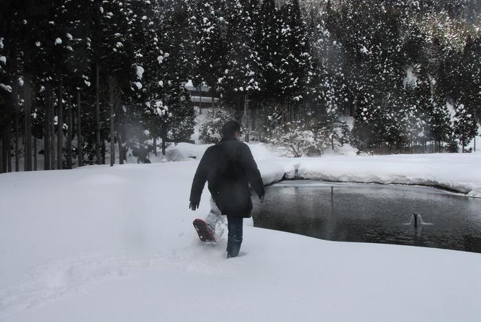 豪雪地方でランチ。_a0049296_20335189.jpg