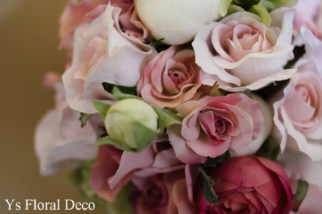 ななめにかぶる花冠とお揃いのブーケ_b0113510_10144540.jpg
