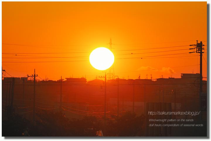 オレンジ色に染まる・・・。_f0235723_19402367.jpg