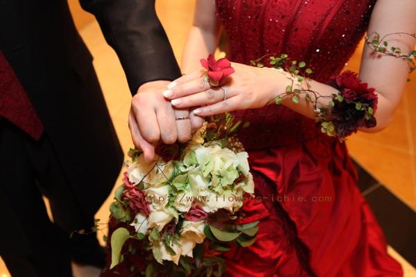 花をまとう花嫁  ANAインターコンチネンタルホテル様へ_a0042928_19484749.jpg