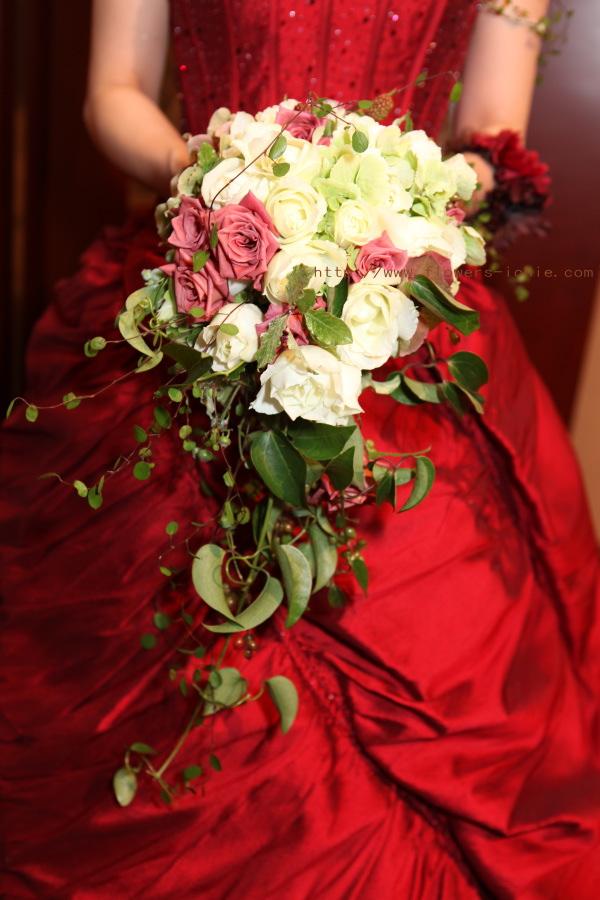 花をまとう花嫁  ANAインターコンチネンタルホテル様へ_a0042928_1949119.jpg
