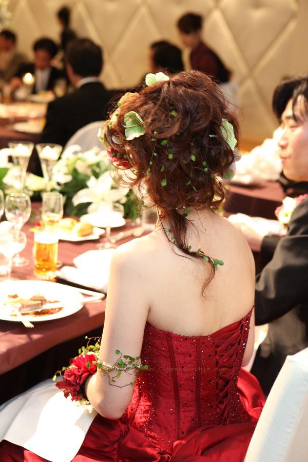 花をまとう花嫁  ANAインターコンチネンタルホテル様へ_a0042928_19492169.jpg