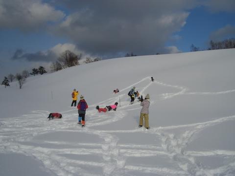 雪遊び 峰の原高原_f0098338_0411371.jpg
