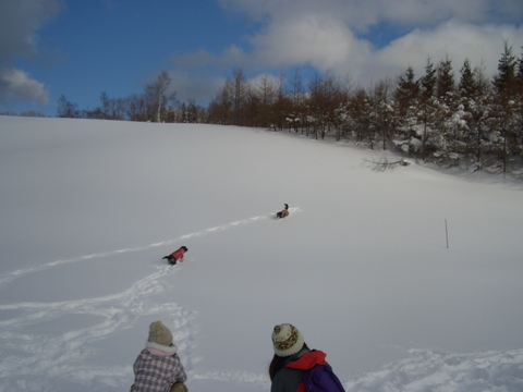 雪遊び 峰の原高原_f0098338_0423552.jpg
