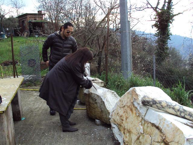 コロンナータの山とオリヴィエロの家へ_d0136540_18304125.jpg