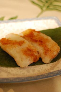 桃饅頭&大根餅_a0175348_1942357.jpg