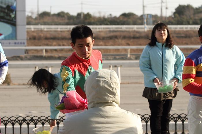 福山競馬騎手交流 紹介式_a0077663_1740417.jpg