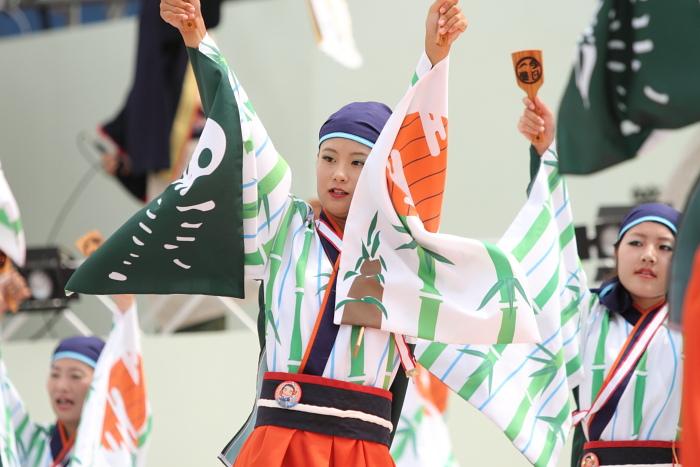 2010年よさこい祭り 全国大会 よさこい鳴子連 今日一屋_a0077663_1810297.jpg