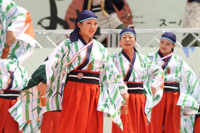 2010年よさこい祭り 全国大会 よさこい鳴子連 今日一屋_a0077663_1885746.jpg