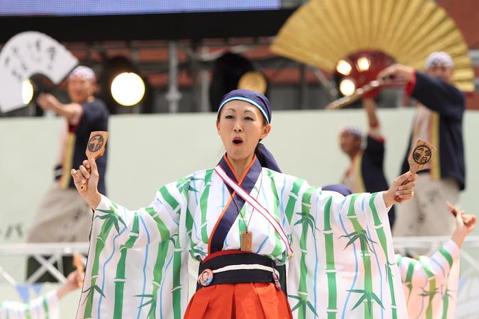 2010年よさこい祭り 全国大会 よさこい鳴子連 今日一屋_a0077663_189276.jpg