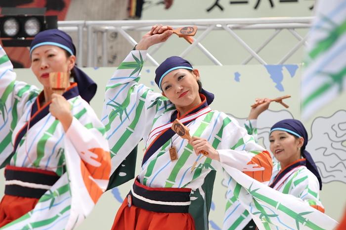 2010年よさこい祭り 全国大会 よさこい鳴子連 今日一屋_a0077663_189359.jpg