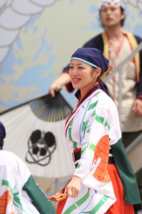 2010年よさこい祭り 全国大会 よさこい鳴子連 今日一屋_a0077663_1895589.jpg