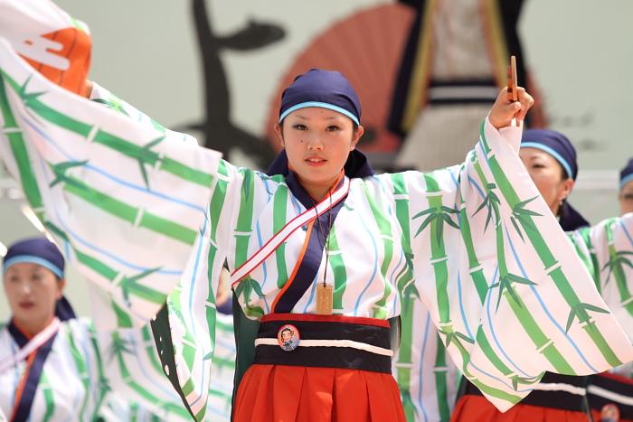 2010年よさこい祭り 全国大会 よさこい鳴子連 今日一屋_a0077663_189871.jpg