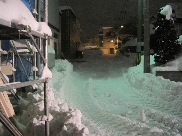 雪のすごさに完敗・・・_f0202703_20554239.jpg